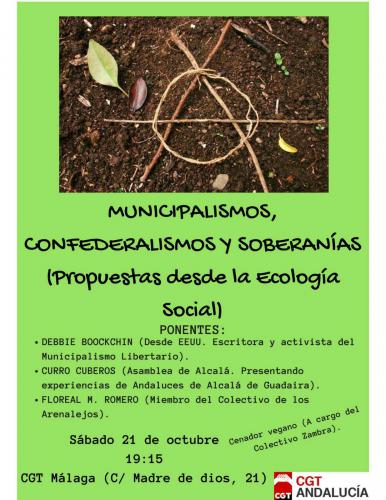 Municipalismos, Confederalismos y Soberanías